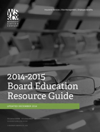 2014-2014 Board Education Resource Guide - Print