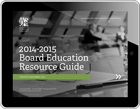 2014-2014 Board Education Resource Guide - iPad