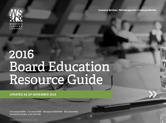 2016 Board Education Resource Guide