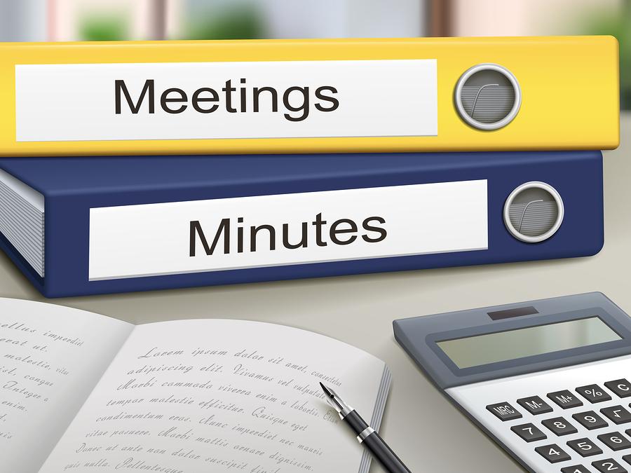 Meetings And Minutes Binders