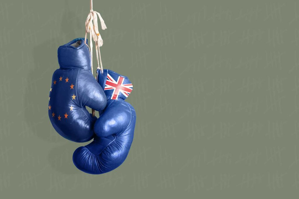 Brexit Boxing Gloves