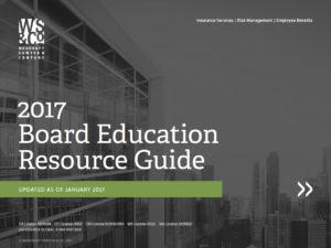 Board of Directors Education Resource Guide 2017