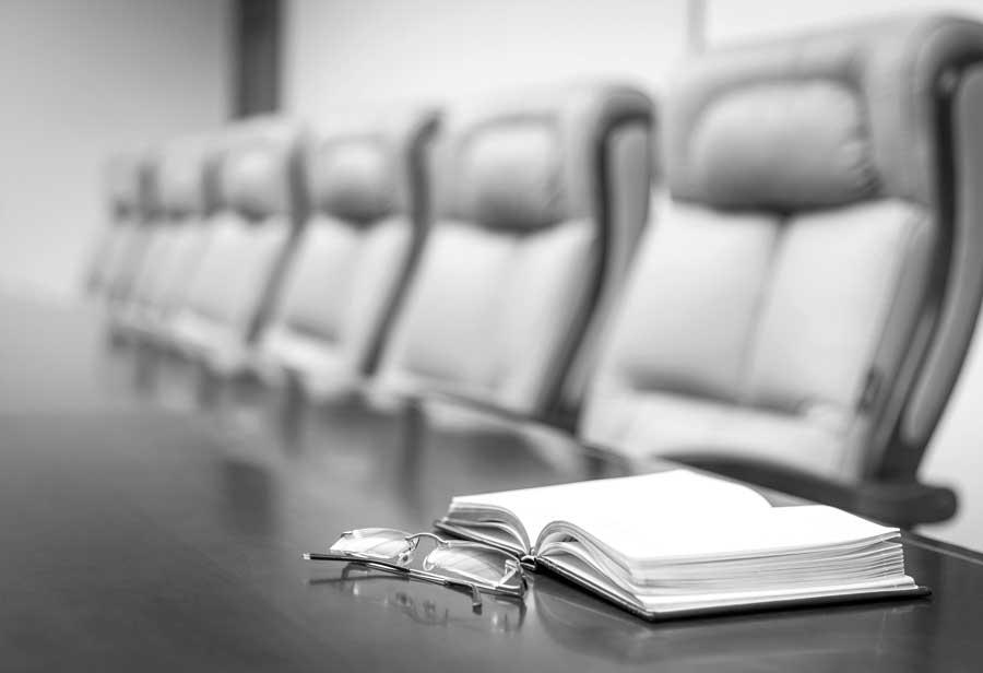 Grey Boardroom