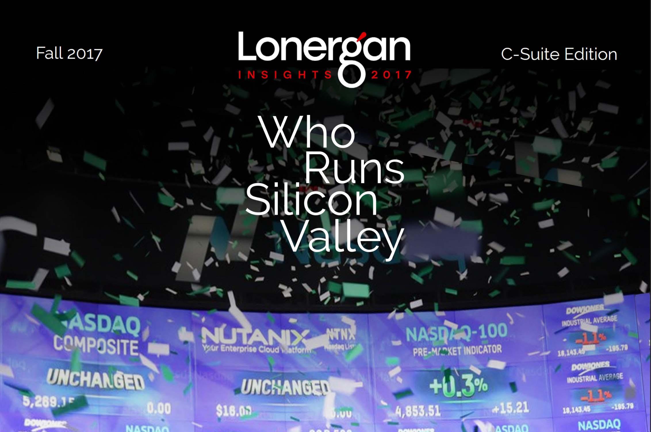 Who Runs Silicon Valley