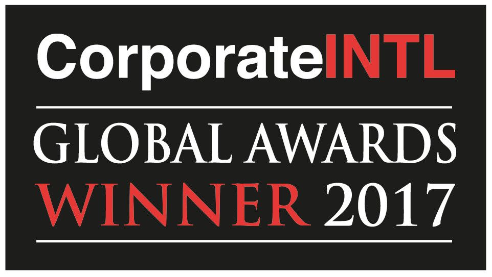 Winner of Corporate International's Global Awards in 2017