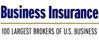 Business Insurance's Top 100 Largest Brokers of US Business Award