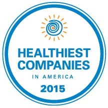 "Recipient of the Interactive Health ""Healthiest companies in America award"" in 2015."