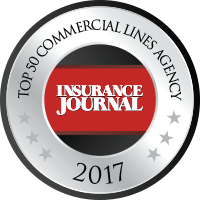 Recipient of Insurance Journal's Top 50 Commercial Lines Agency Award in 2017.