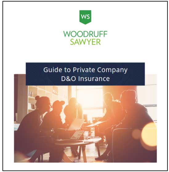 Click to download the Woodruff Sawyer Guide to Private Company D and O Insurance