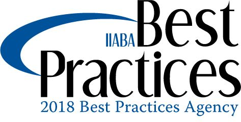 IIABA Best Practices graphic for 2018 Best Practices Agency award graphic used by Woodruff Sawyer.