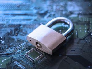 Lock Circuit Board Cyber Security