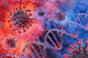 3D Virus DNA