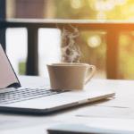 Laptop Coffee Morning