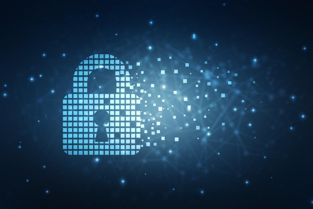 Lock Cyber Pixels