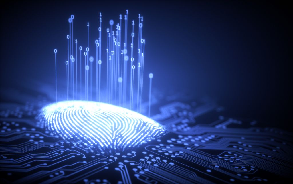 Fingerprint Cyber Binary