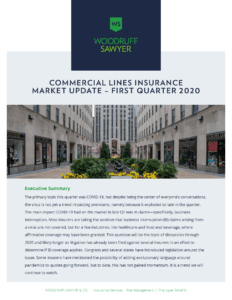 Commercial Lines Insurance Update - Click here to download the full guide