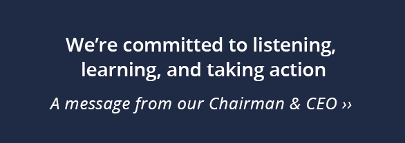 "Woodruff Sawyer Equity Statement - ""We're committed to listening, learning, and taking action."""