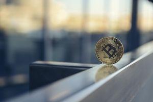 Bitcoin on ledge