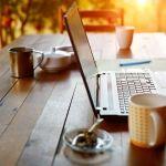 Coffee Laptop Remote Work