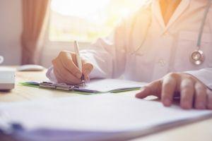 doctor medical paperwork workers comp