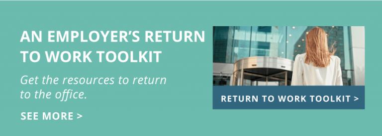 Employer's RTW Toolkit blog homepage tile