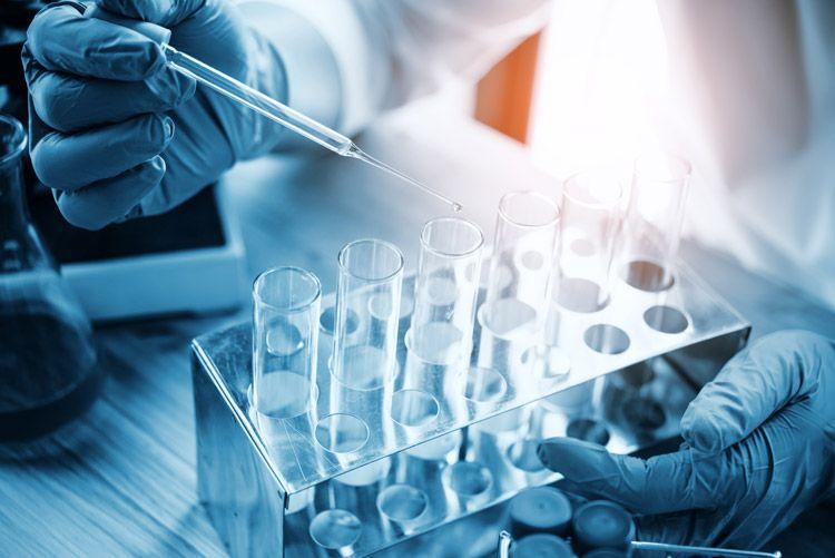 scientist test tubes
