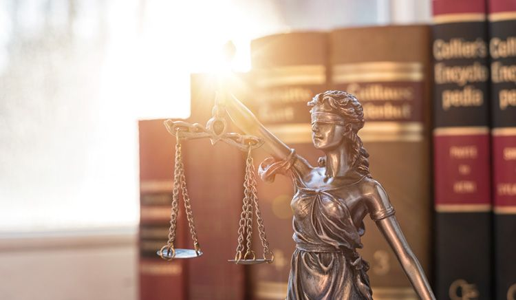 lady justice scale books