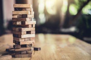 wooden blocks risk
