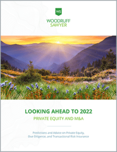 Cover image of M&A Looking Ahead Guide 2022